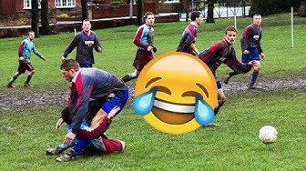 Best Sunday League Football Vines #2   Tackles, Fights and Goals