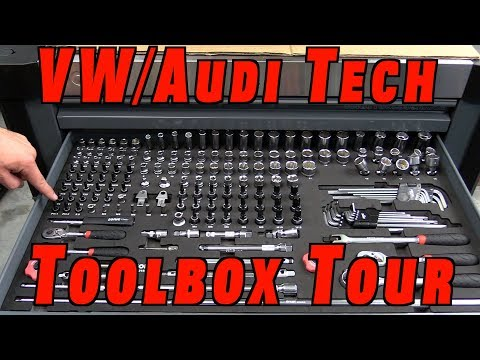 Sonic Tools VW Audi Technician Tool Box Tour