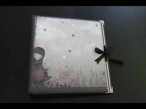 Album fairy lights de santoro s gorjuss youtube - Como hacer un album de fotos ...
