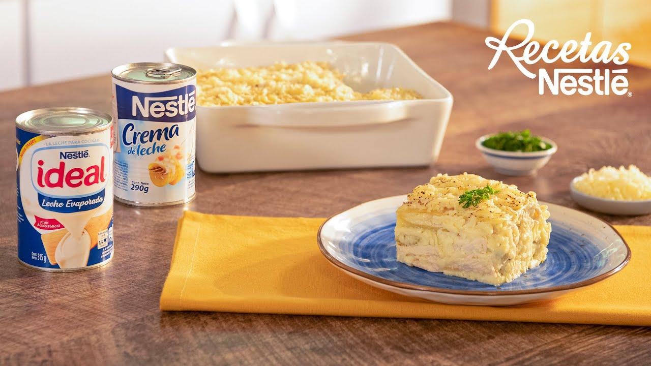 Lasaña De Pollo En Salsa Blanca Recetas Nestlé Cam Youtube