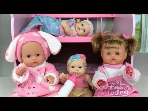 Nenuco Traviesas PijamadaMuñecas Bebes Hermanitas Fiesta Lola Y VpqUSGMz