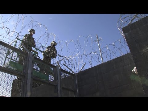 Marines Fortify Two San Diego Port Of Entries