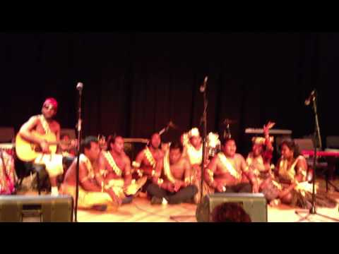 Te Toa Matoa - Kiribati disabled singing group