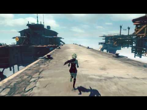 Gravity Rush 2 collecting gems, gameplay 10, MIC off! no commentary