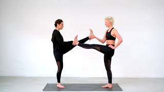 25min Playful Partner Yoga with Sala Yoga & Ida May