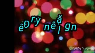 Karaoke Đêm yên lặng (nhạc Giáng Sinh)