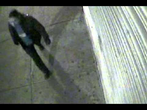 Surveillance video of suspect in Greenwich Village stabbing