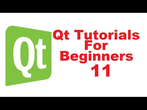 Qt Tutorials For Beginners 11 - Displaying image using label in Qt