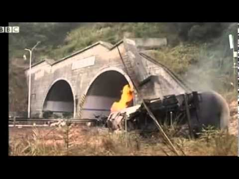 Tanker explosion in China kills five people  Tanker carrying natural gas has exploded in China