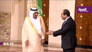 العاهل السعودي يناقش مع الرئيس السيسي القضايا الإقليمية والدولية في اليوم الثاني من زيارته للقاهرة