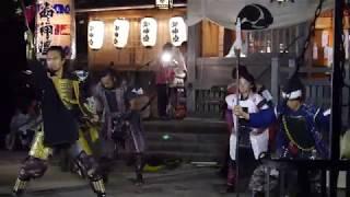 【葵武将隊】2018 07 19 菅生神社☆宵宮祭