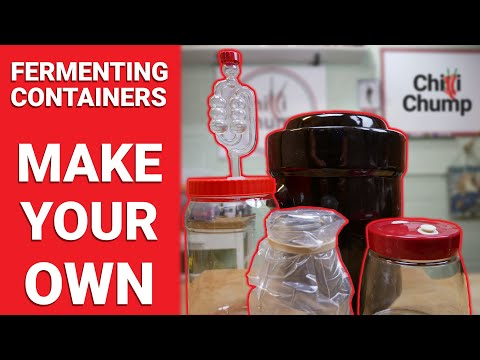 Fermenting containers DIY