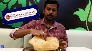 Hotel Saravana Bhavan - Food Review