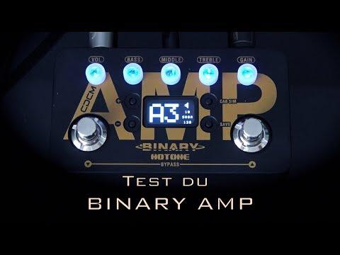 """HOTONE """"BINARY Amp"""" test en Français"""
