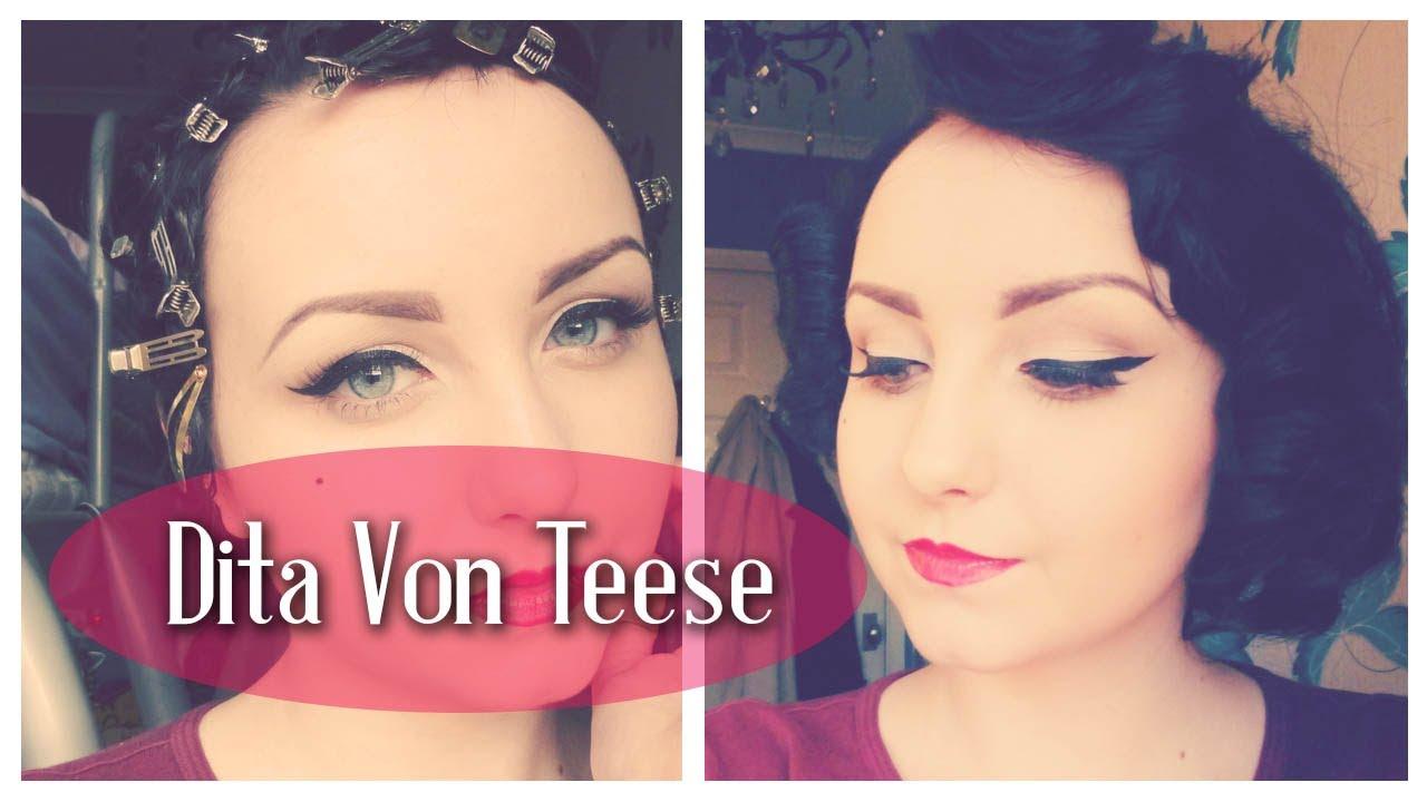 Monday makeup videos: dita von teese inspired makeup tutorials.
