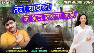 Jignesh Kaviraj Teri Yaadon Ko Main Bhul Sakta Nahi | तेरी यादों को में भुल सकता नहीं | Full Audio