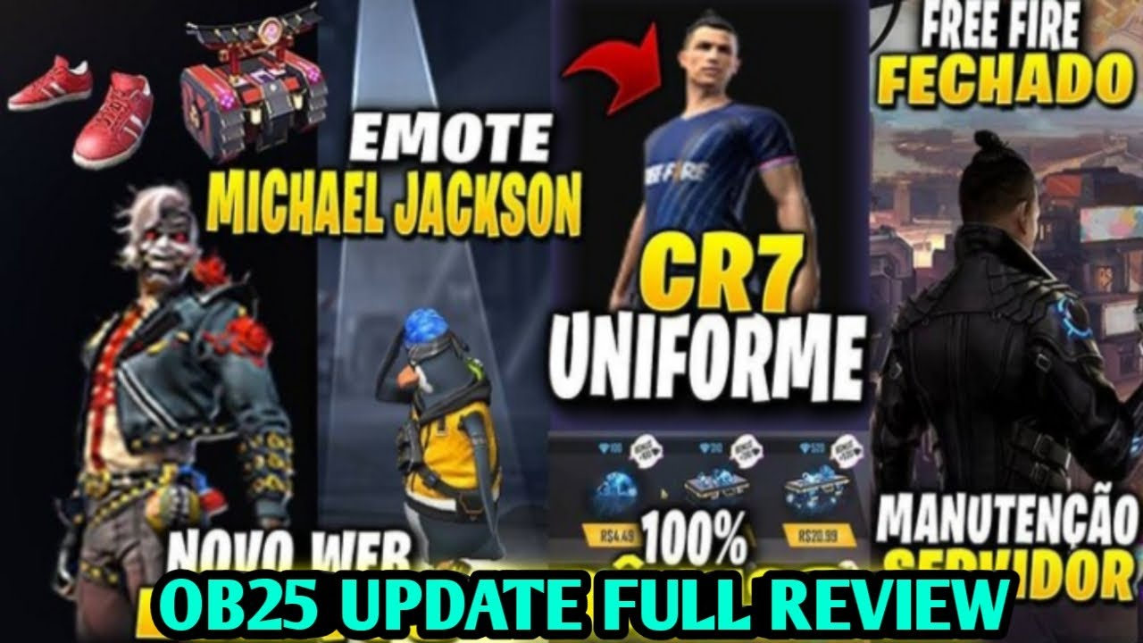 7 December New Update Free Fire Ob25 Update Free Fire 7 December Update Full Review Youtube