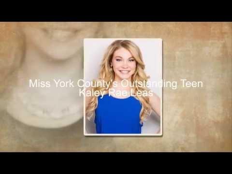 The 2016 Miss Pennsylvanias Outstanding Teen Contestants