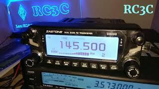 QSO C Ярославом RU3DEW на 145.500 МГц