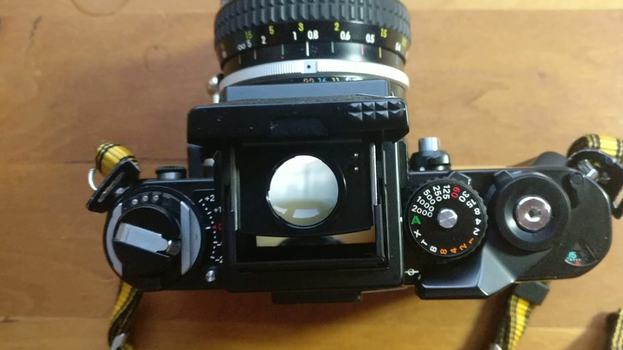 nikon f3 dw3 viewfinder youtube