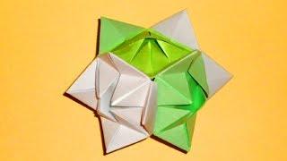Кубик из бумаги Оригами игрушка из бумаги