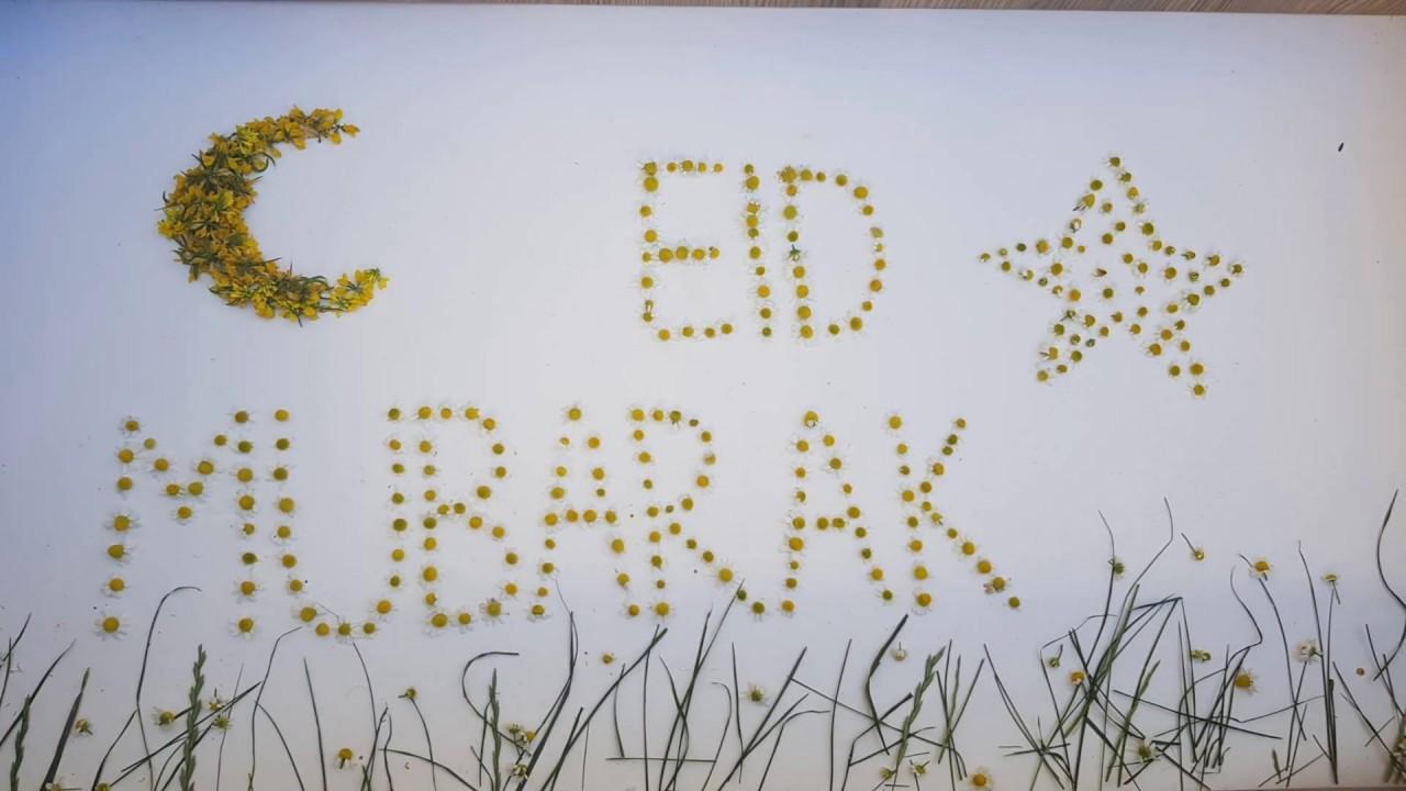 A Special Happy Eid Mubarak   Ramandan 2020   Stop Motion Animation