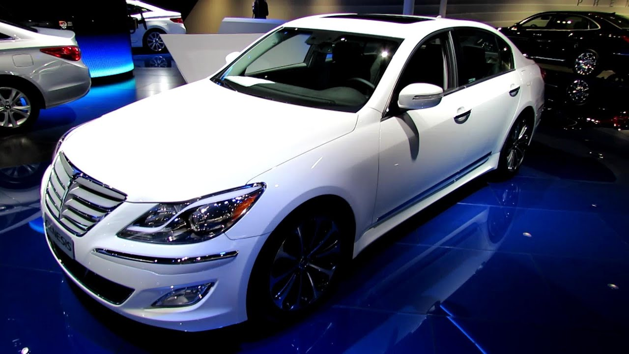 2013 hyundai genesis 5 0 r spec exterior and interior. Black Bedroom Furniture Sets. Home Design Ideas