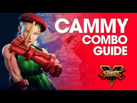 Street Fighter V: CAMMY Combo Guide