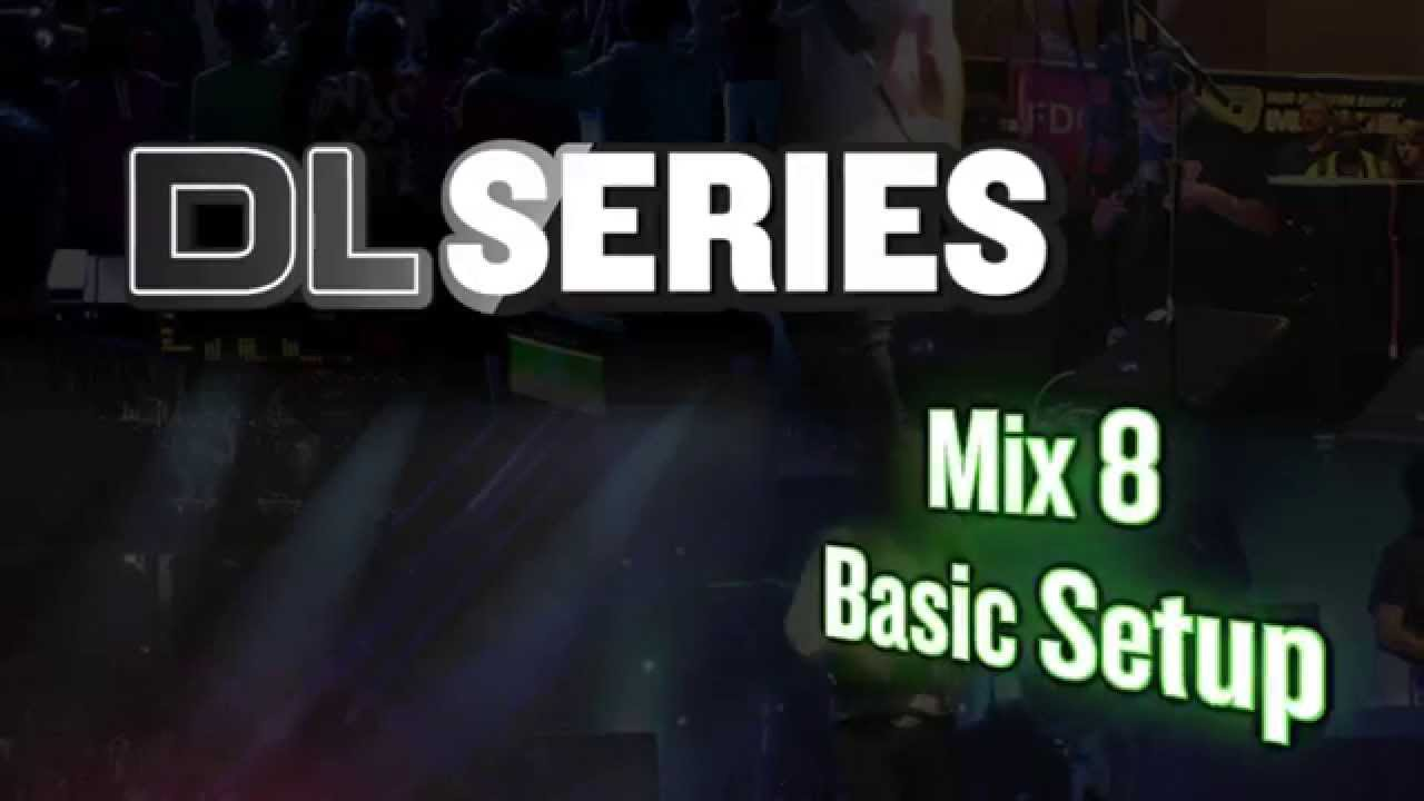Mackie Mix8 Basic Setup Youtube Wiring Diagrams