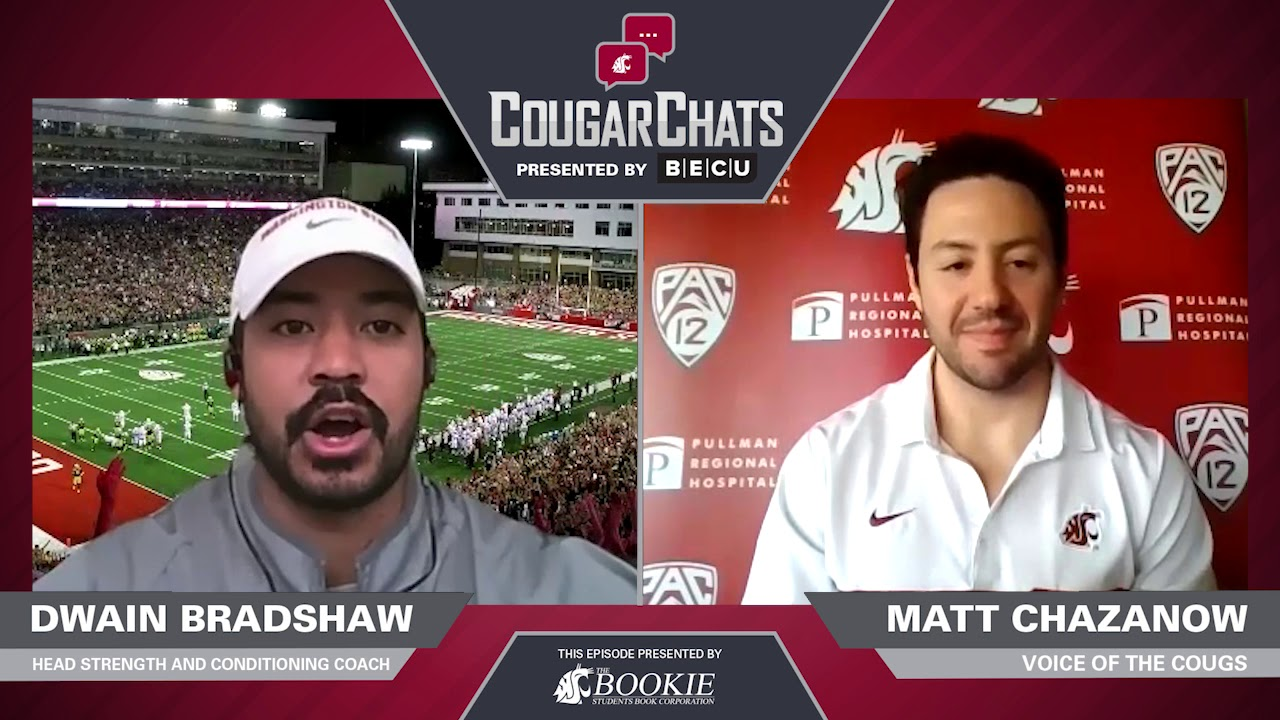 Image for WSU Athletics: Cougar Chats with Coach Dwain Bradshaw webinar