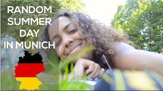 RANDOM SUMMER DAY IN MUNICH   Vlog July 2018