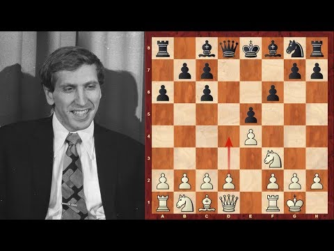 Bobby Fischer's shortest decisive game with Boris Spassky ...