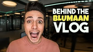 Behind The Scenes Of A YouTuber | Behind BluMaan 2018