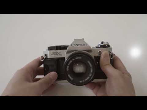 Installing the Canon AE-1 Program Battery