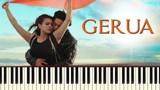 Gerua (Dilwale) Piano Tutorial / Notes / Sheet Music / Midi ~ Piano Daddy