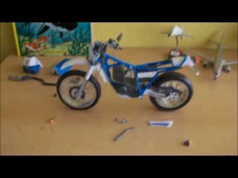 Papercraft Yamaha Serow 225 Papercraft