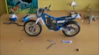 Yamaha Serow 225 Papercraft