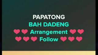 Video Papatong - Bah Dadeng | Karaoke Sunda download MP3, 3GP, MP4, WEBM, AVI, FLV Agustus 2018
