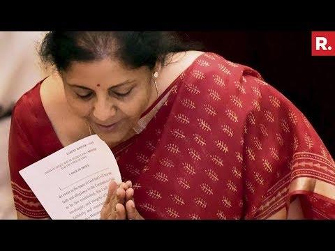 Nirmala Sitharaman declared Defence Minister