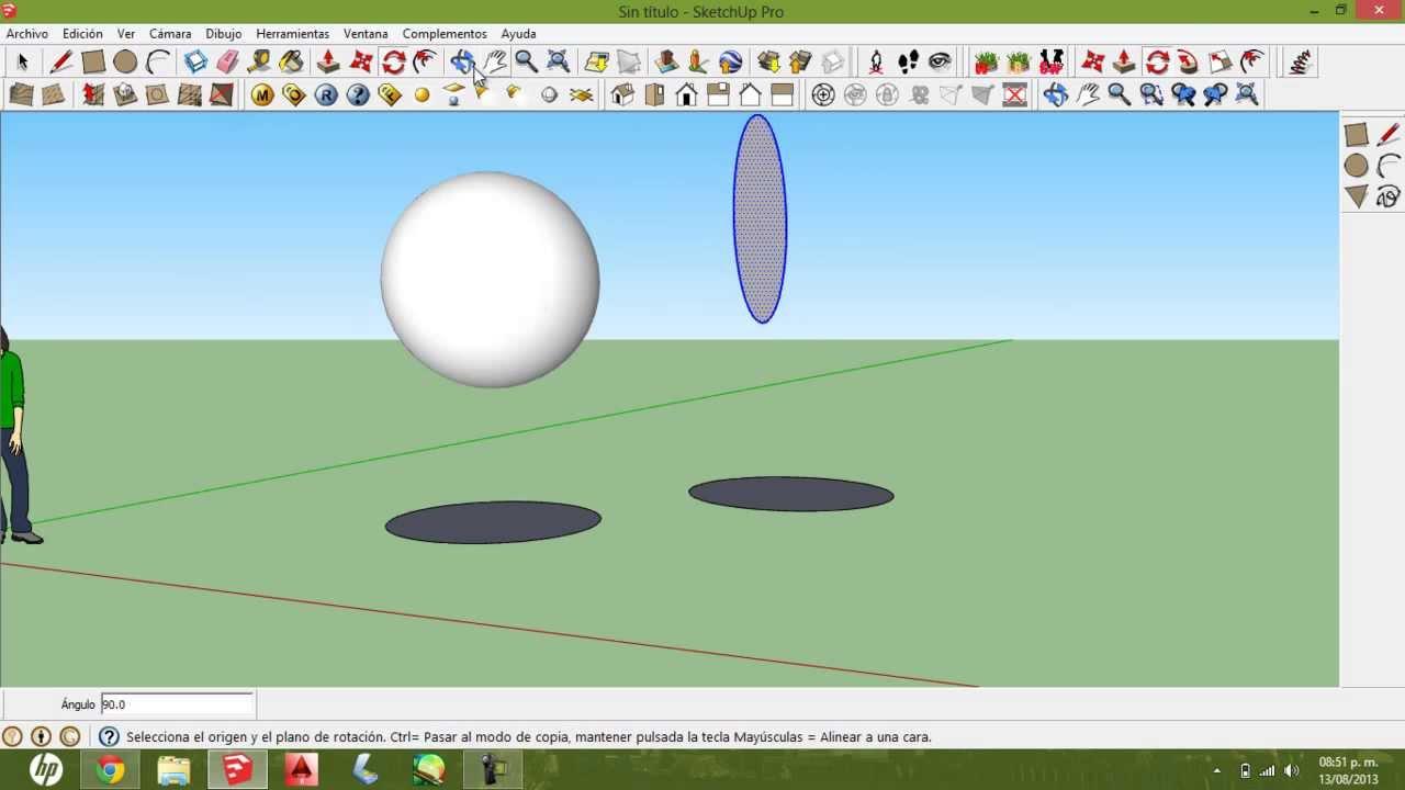 Como hacer una esfera en google sketchup hd youtube - Como hacer una mosquitera ...