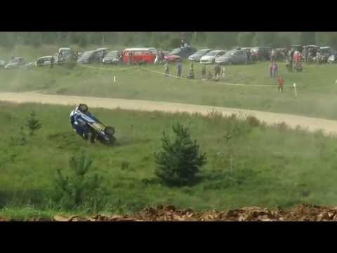 Elektrėnai Rally 2016 SS5 crash