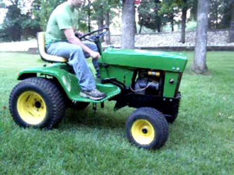 John Deere 140 Wiring Diagram Split Charge Relay H3 1969 Great Installation Of Youtube Rh Com Manual