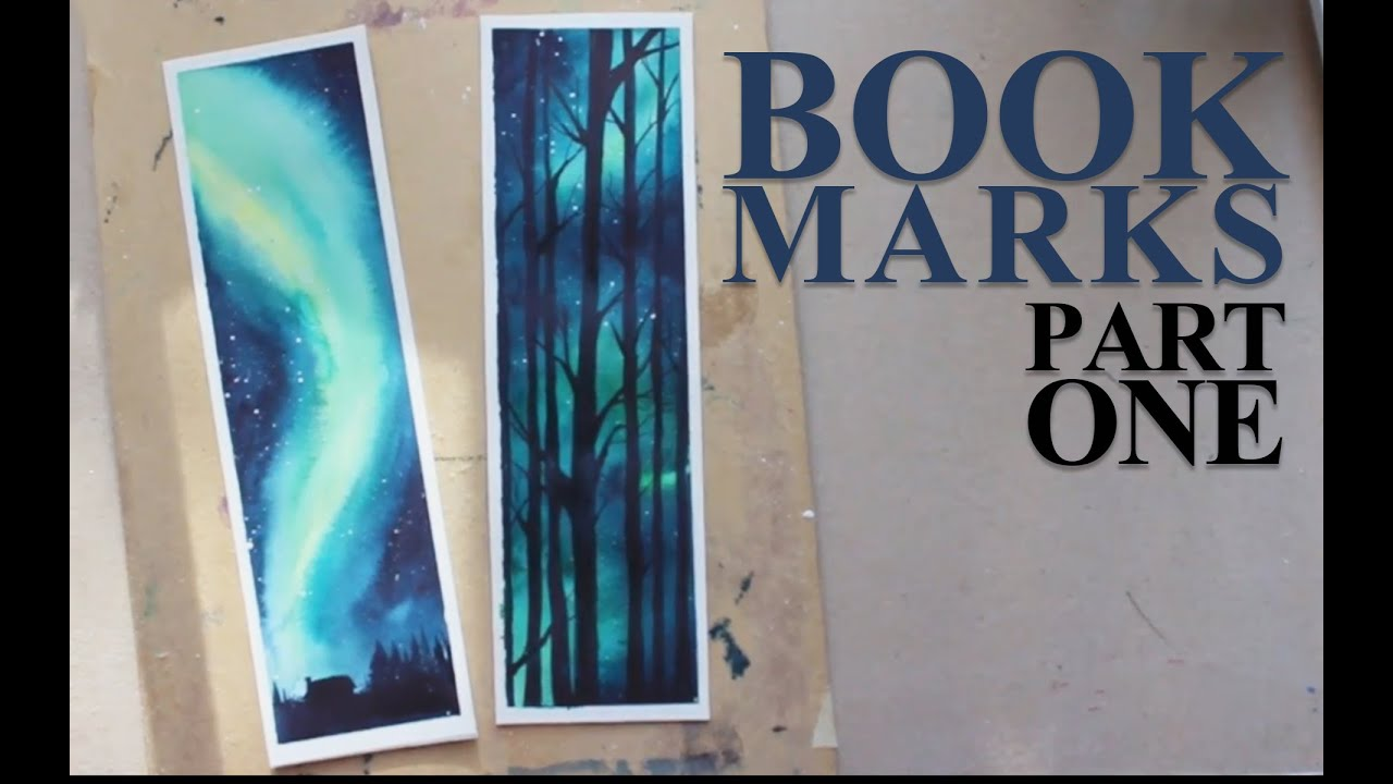 Watercolor bookmarks - Watercolor Bookmarks 9