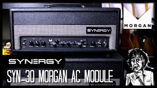 Modular Amp System? Synergy SYN-30 Overview and Morgan AC Module Demo