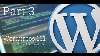 WordPress 101 - Part 3: How to create custom menus