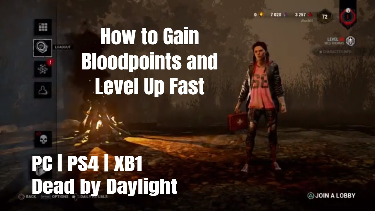 Download How to Gain Bloodpoints and Level Up Fast   Dead by Daylight   PC   PS4   XB1