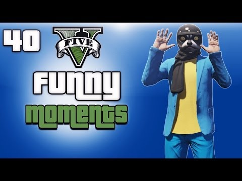 GTA 5 Online Funny Moments Ep. 40 (Animal...