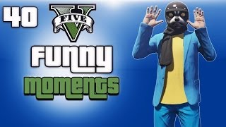 GTA 5 Online Funny Moments Ep. 40 (Animal Training, Helmet Testing, Transformers Glitch!)
