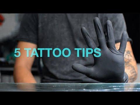 5 TATTOO TIPS