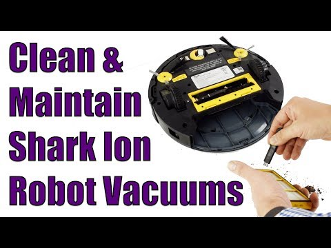 How To Clean And Maintain Shark Ion Robot 720 / 750 - Vacuum Cleaner Maintenance.